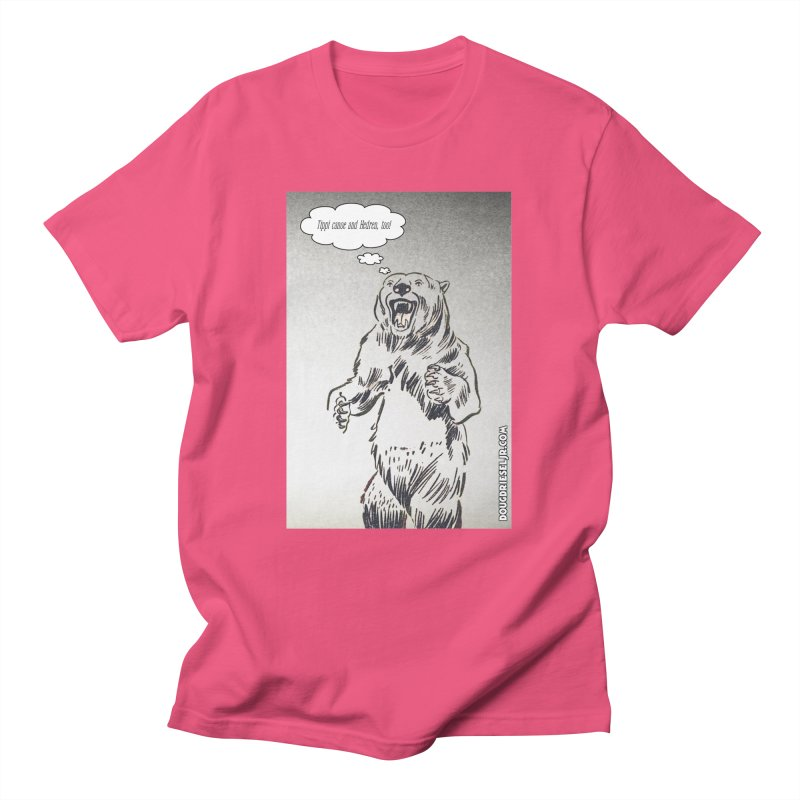 Tippi Bear Men's T-Shirt by obscurereferencepodcast's Artist Shop