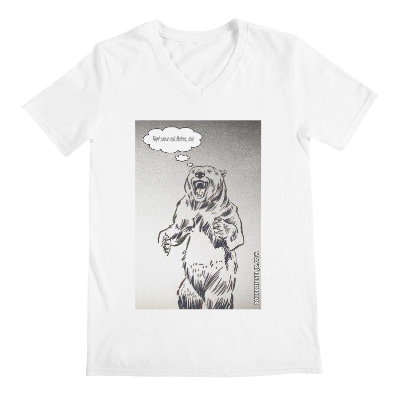 Tippi Bear Men's V-Neck by obscurereferencepodcast's Artist Shop
