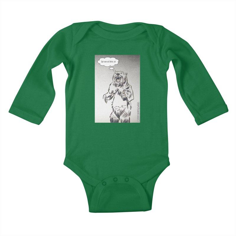 Tippi Bear Kids Baby Longsleeve Bodysuit by obscurereferencepodcast's Artist Shop