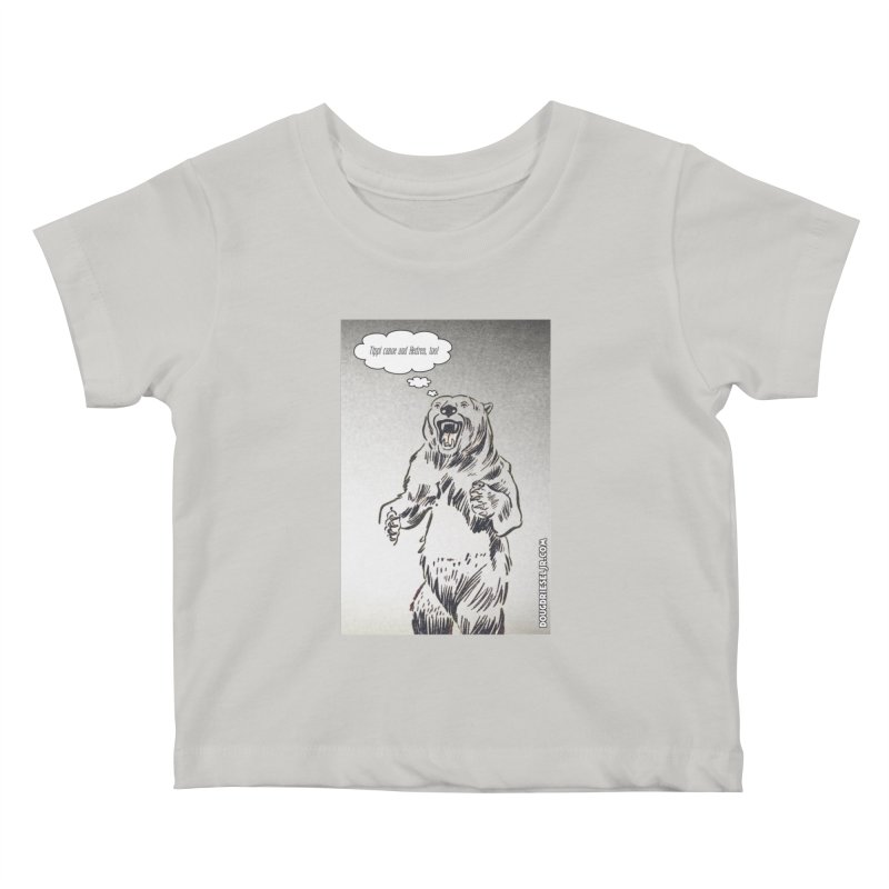 Tippi Bear Kids Baby T-Shirt by obscurereferencepodcast's Artist Shop