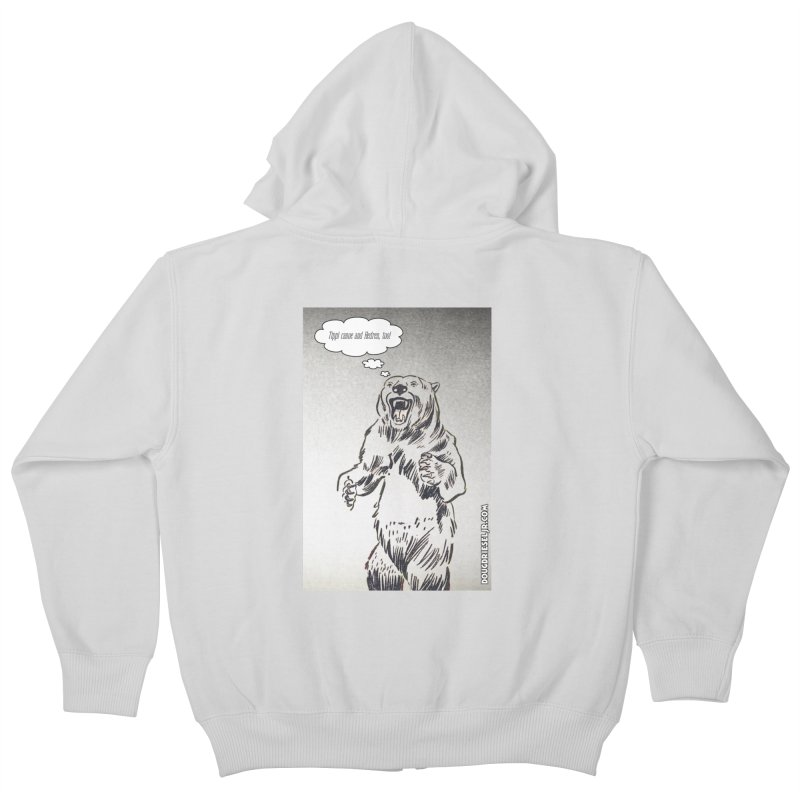 Tippi Bear Kids Zip-Up Hoody by obscurereferencepodcast's Artist Shop