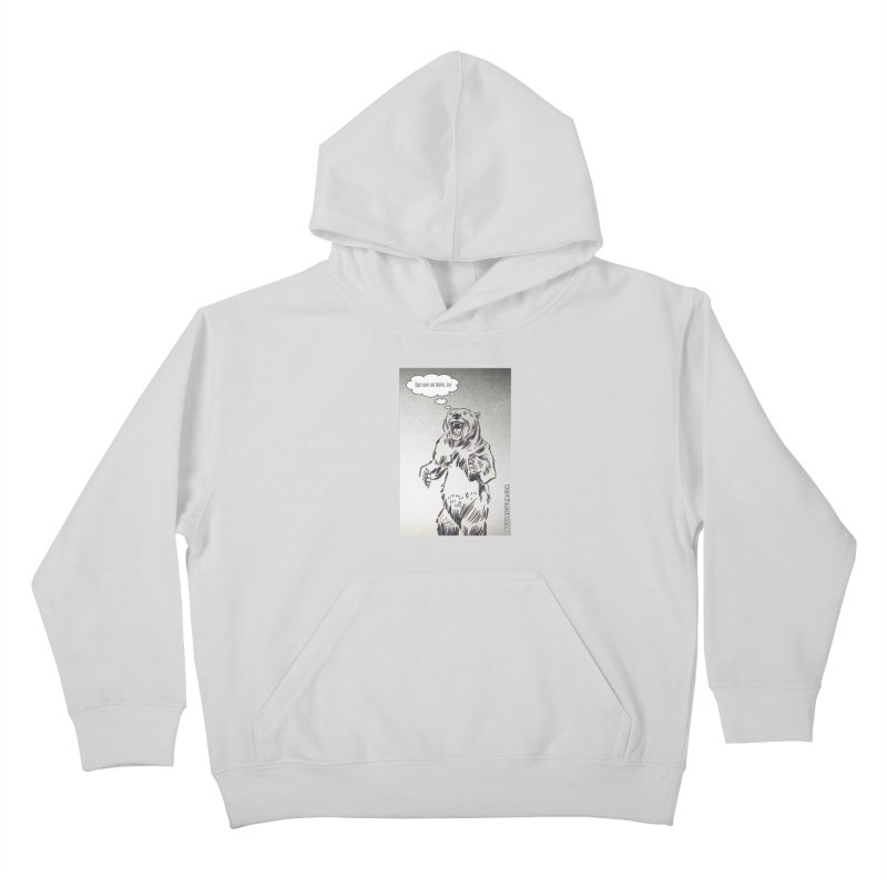 Tippi Bear Kids Pullover Hoody by obscurereferencepodcast's Artist Shop