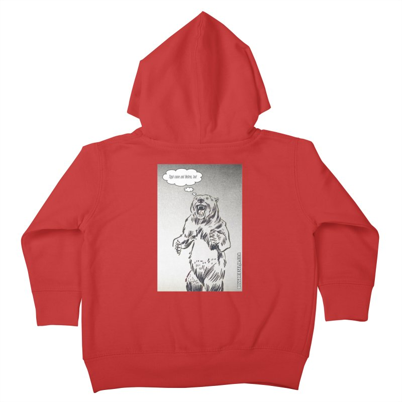Tippi Bear Kids Toddler Zip-Up Hoody by obscurereferencepodcast's Artist Shop