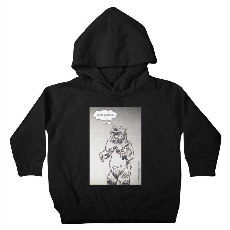 Tippi Bear Kids Toddler Pullover Hoody by obscurereferencepodcast's Artist Shop