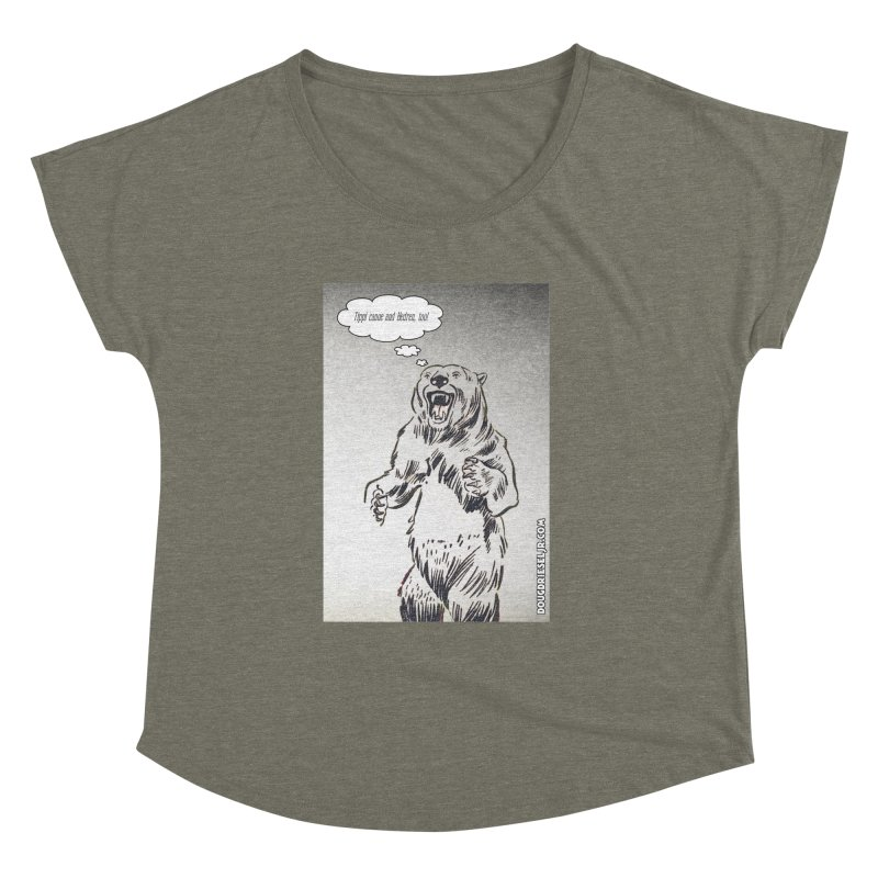 Tippi Bear Women's Dolman by obscurereferencepodcast's Artist Shop
