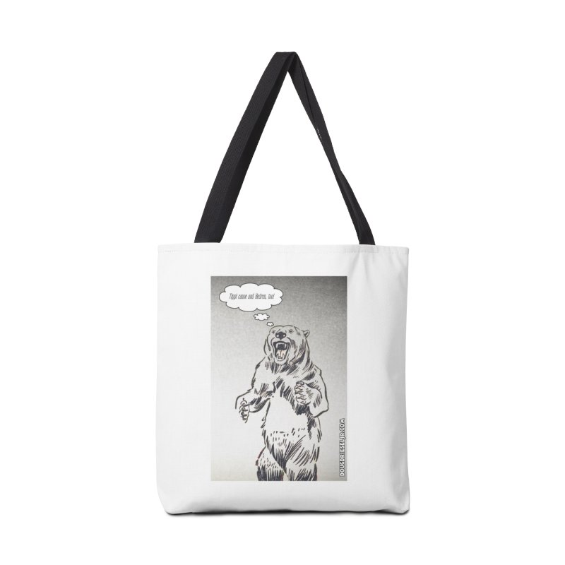 Tippi Bear Accessories Bag by obscurereferencepodcast's Artist Shop