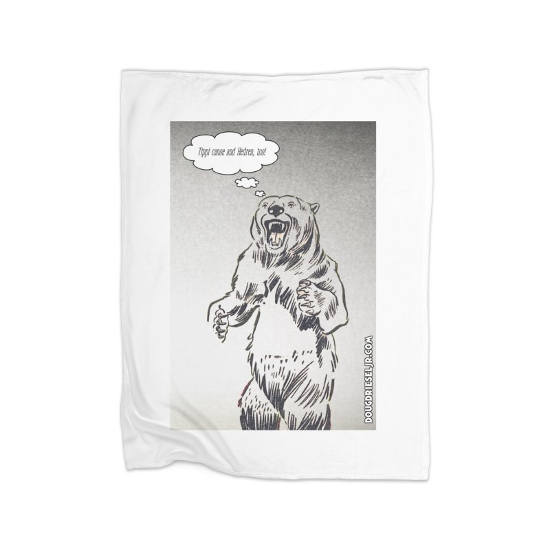 Tippi Bear Home Blanket by obscurereferencepodcast's Artist Shop