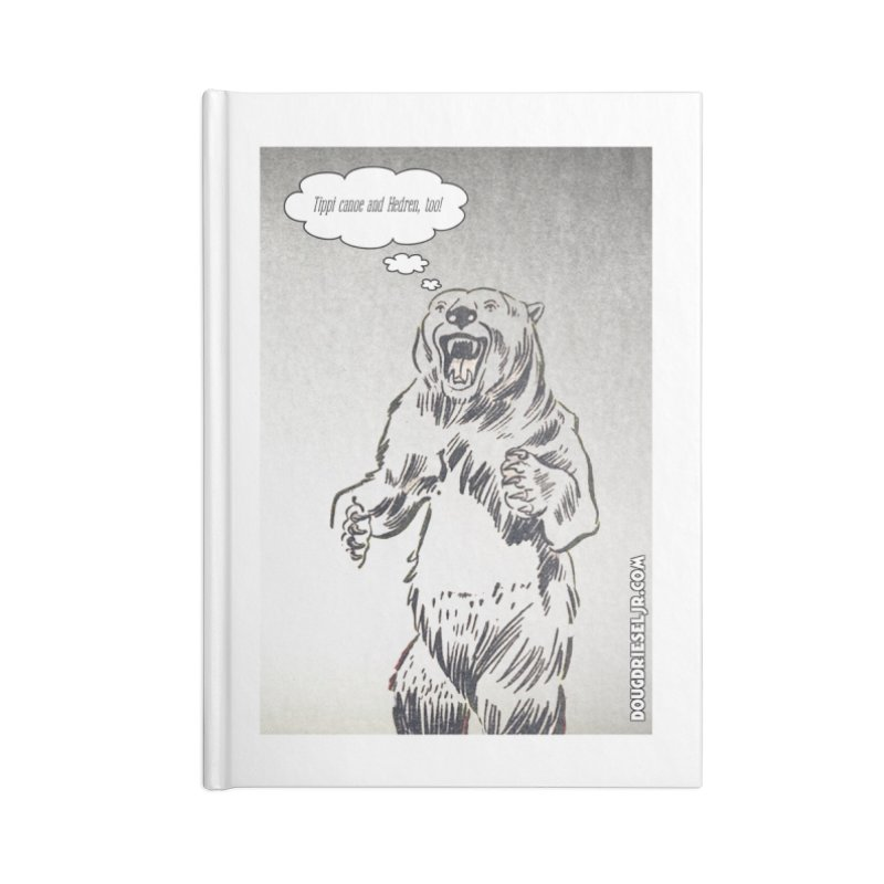 Tippi Bear Accessories Notebook by obscurereferencepodcast's Artist Shop