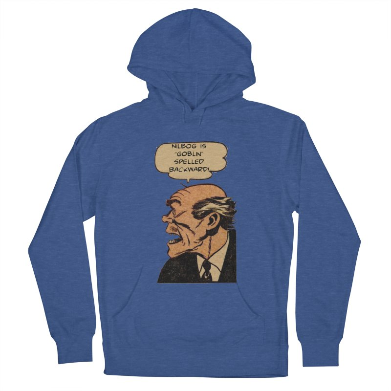 Nilbog Men's Pullover Hoody by obscurereferencepodcast's Artist Shop