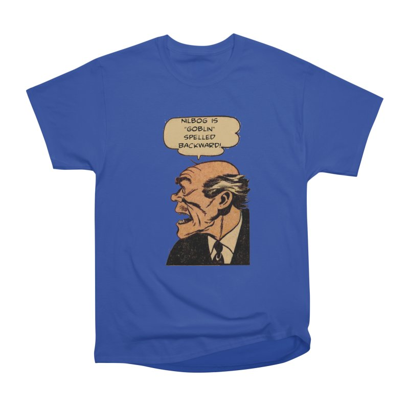 Nilbog Women's Classic Unisex T-Shirt by obscurereferencepodcast's Artist Shop