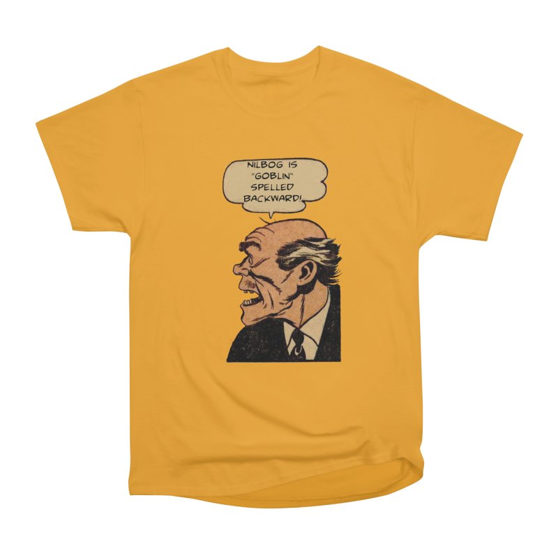 Nilbog Men's Classic T-Shirt by obscurereferencepodcast's Artist Shop