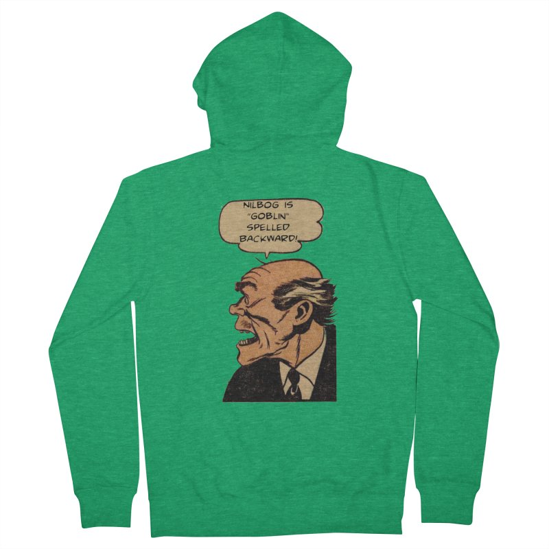 Nilbog Women's Zip-Up Hoody by obscurereferencepodcast's Artist Shop