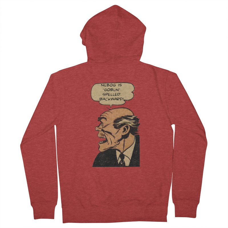 Nilbog Men's Zip-Up Hoody by obscurereferencepodcast's Artist Shop