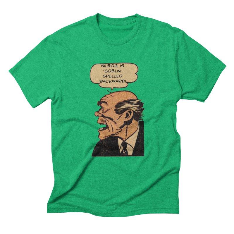 Nilbog Men's Triblend T-Shirt by obscurereferencepodcast's Artist Shop