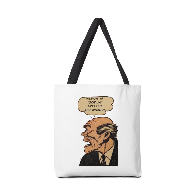 Nilbog Accessories Bag by obscurereferencepodcast's Artist Shop