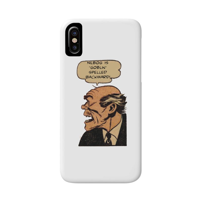 Nilbog Accessories Phone Case by obscurereferencepodcast's Artist Shop