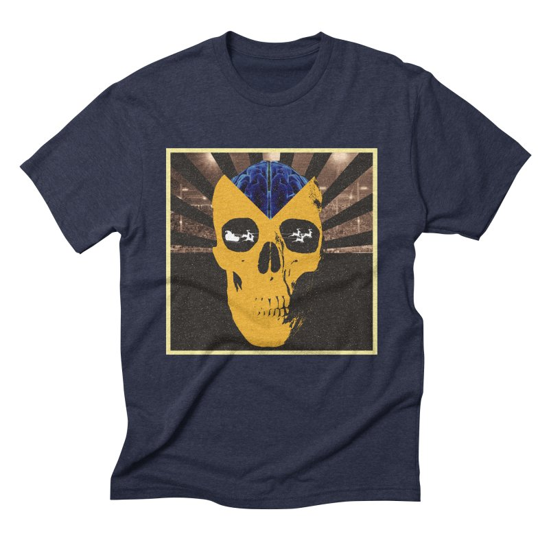 Christmas Men's Triblend T-Shirt by obscurereferencepodcast's Artist Shop