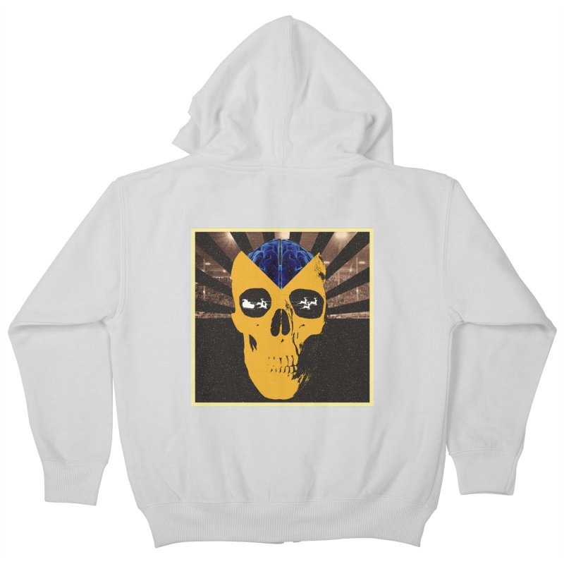 Christmas Kids Zip-Up Hoody by obscurereferencepodcast's Artist Shop