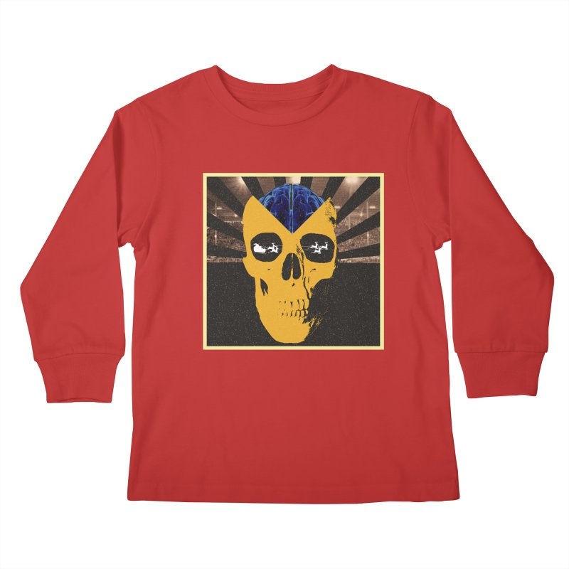 Christmas Kids Longsleeve T-Shirt by obscurereferencepodcast's Artist Shop