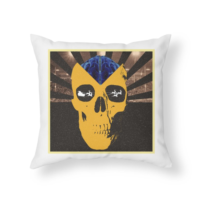 Christmas Home Throw Pillow by obscurereferencepodcast's Artist Shop