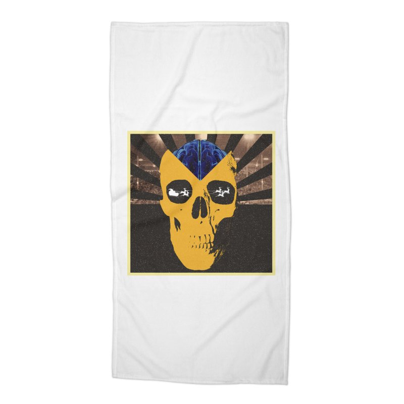 Christmas Accessories Beach Towel by obscurereferencepodcast's Artist Shop