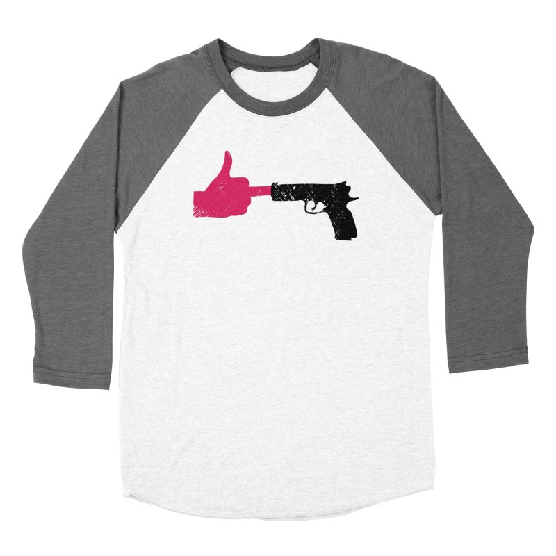 END GUN VIOLENCE NOW Women's Baseball Triblend Longsleeve T-Shirt by ObsessoProcesso's Artist Shop