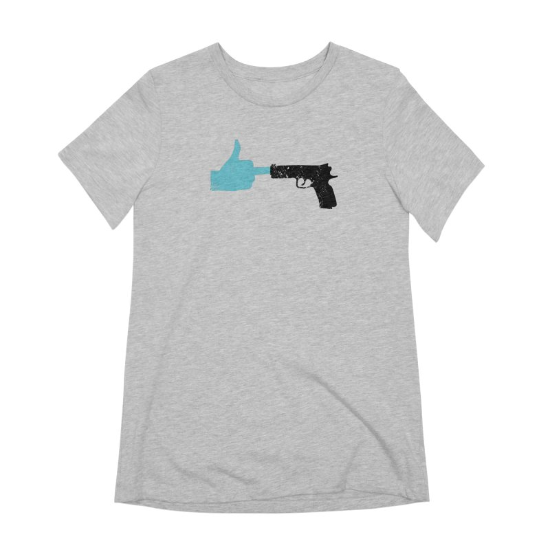END GUN VIOLENCE NOW Women's Extra Soft T-Shirt by ObsessoProcesso's Artist Shop
