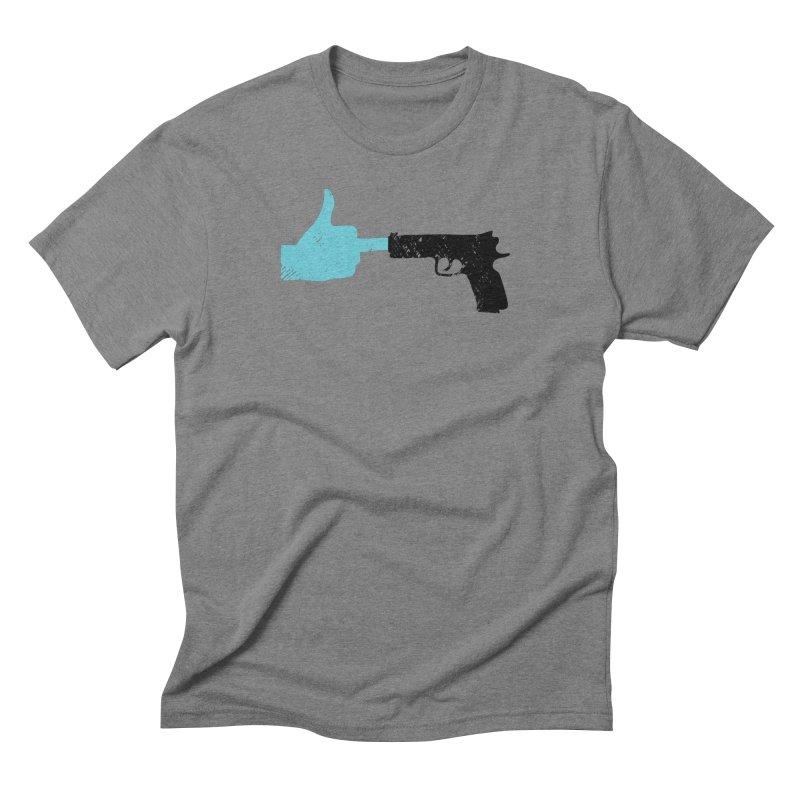 END GUN VIOLENCE NOW Men's Triblend T-Shirt by ObsessoProcesso's Artist Shop