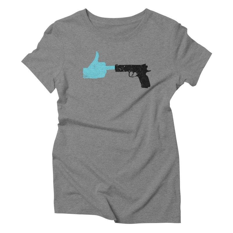 END GUN VIOLENCE NOW Women's Triblend T-Shirt by ObsessoProcesso's Artist Shop
