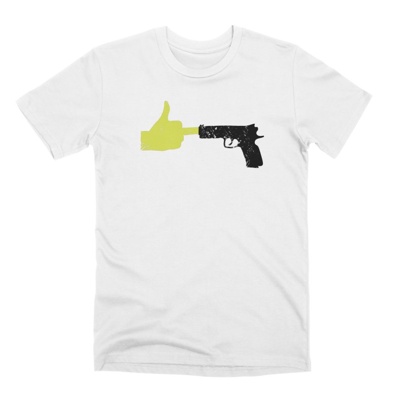 END GUN VIOLENCE NOW Men's Premium T-Shirt by ObsessoProcesso's Artist Shop
