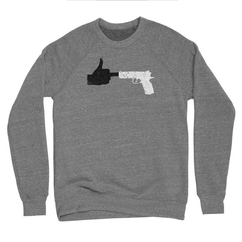 END GUN VIOLENCE NOW Men's Sponge Fleece Sweatshirt by ObsessoProcesso's Artist Shop