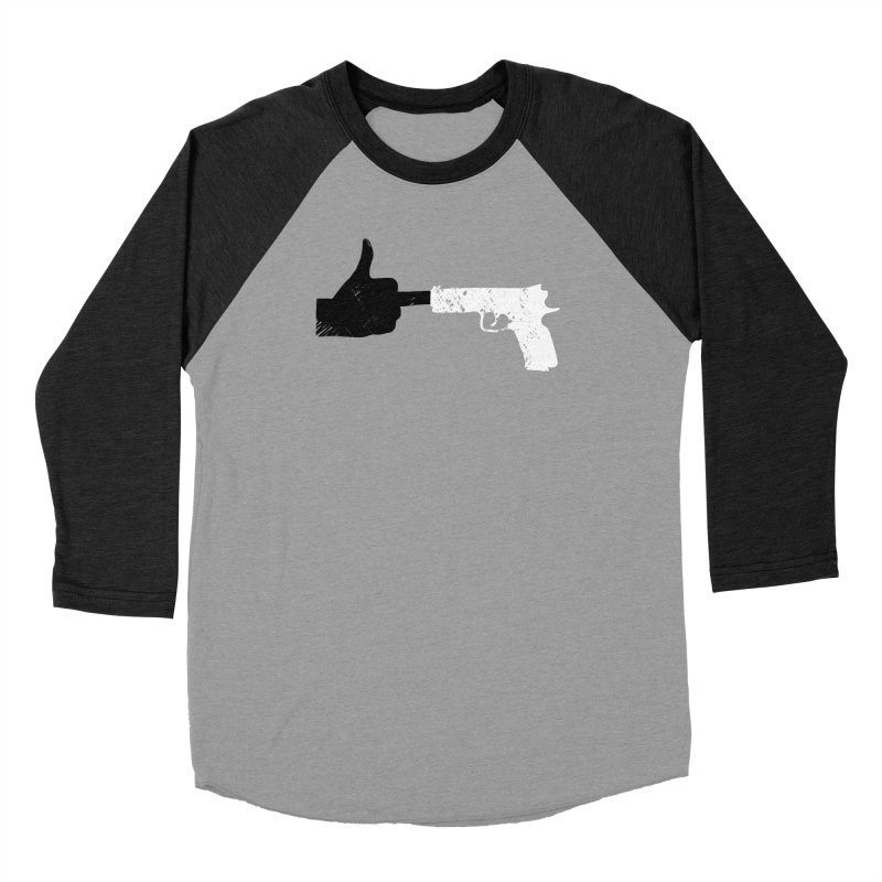 F*CK THE NRA Men's Baseball Triblend Longsleeve T-Shirt by ObsessoProcesso's Artist Shop
