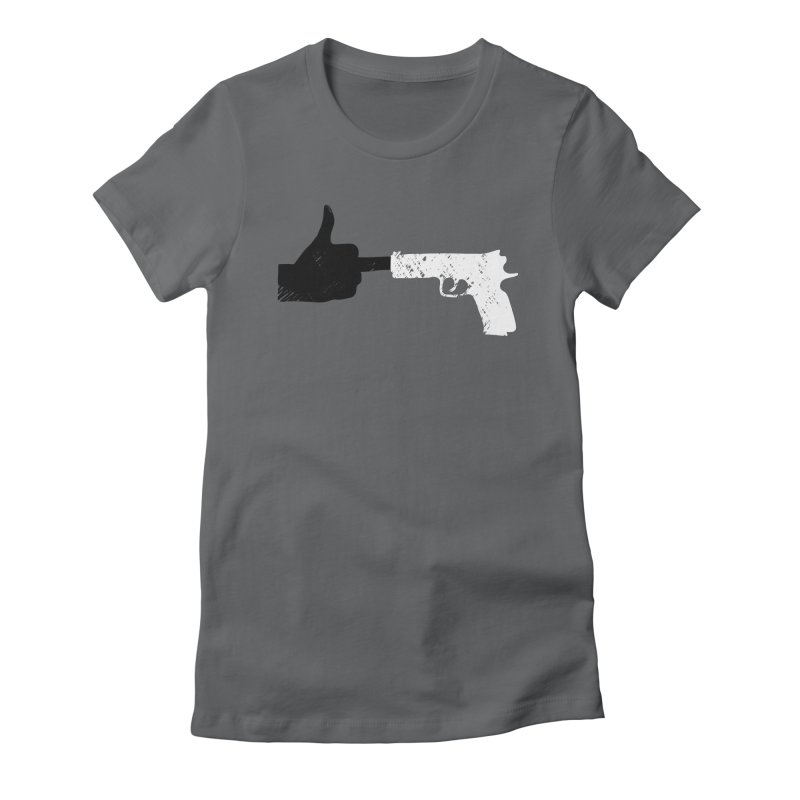 END GUN VIOLENCE NOW Women's Fitted T-Shirt by ObsessoProcesso's Artist Shop