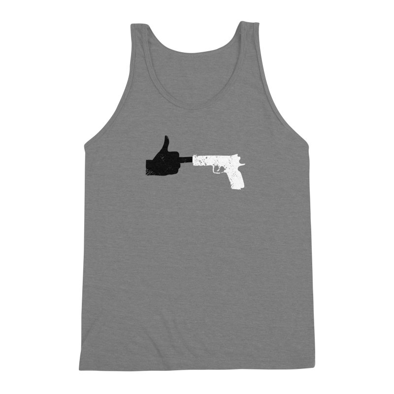 F*CK THE NRA Men's Triblend Tank by ObsessoProcesso's Artist Shop