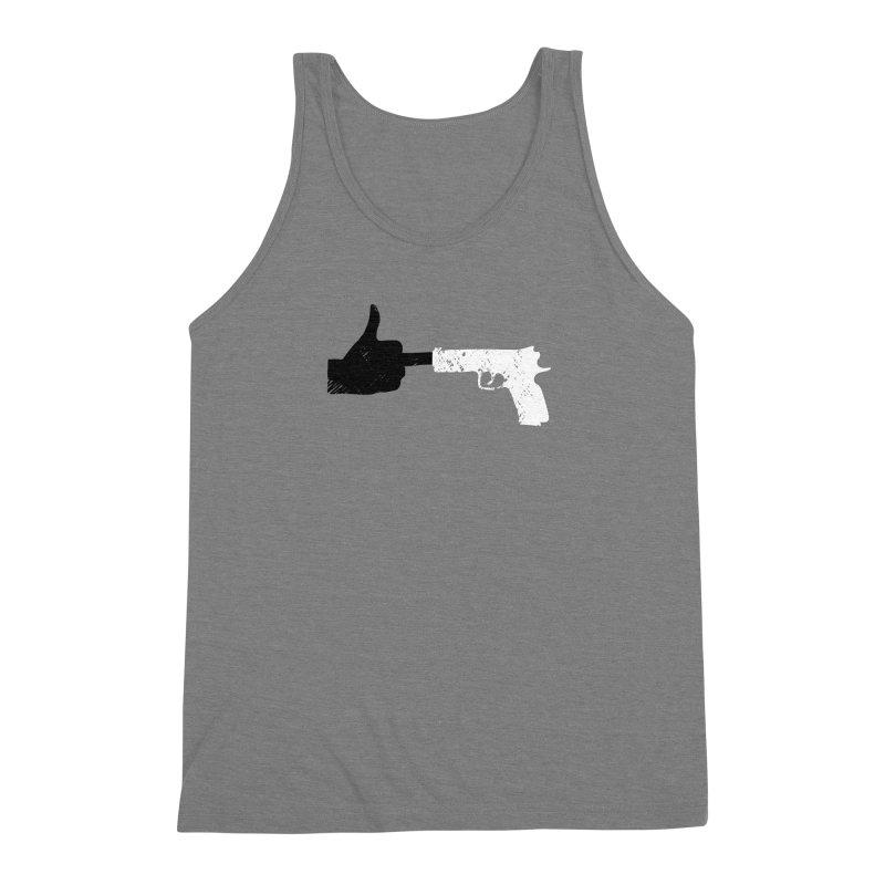 END GUN VIOLENCE NOW Men's Triblend Tank by ObsessoProcesso's Artist Shop