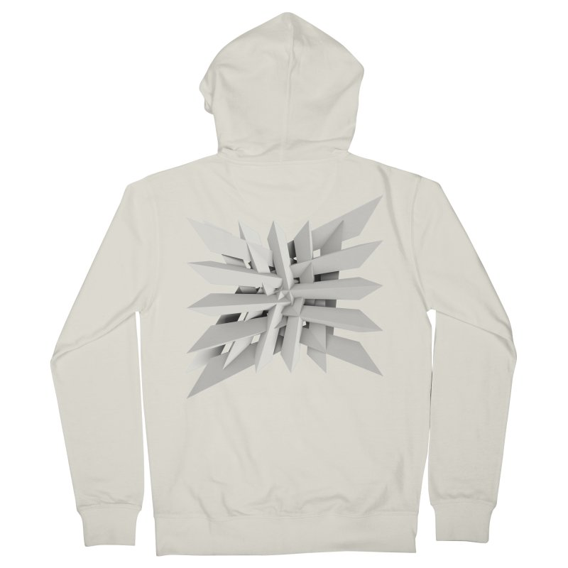 Uxitol [Struggle] Men's Zip-Up Hoody by Obvious Warrior Artist Shop