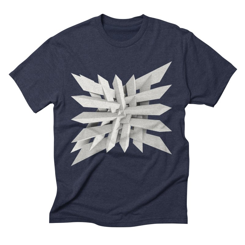 Uxitol [Struggle] Men's Triblend T-shirt by Obvious Warrior Artist Shop
