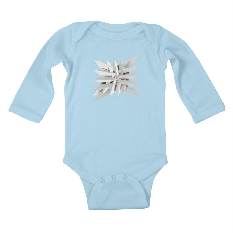 Uxitol [Struggle] Kids Baby Longsleeve Bodysuit by Obvious Warrior Artist Shop