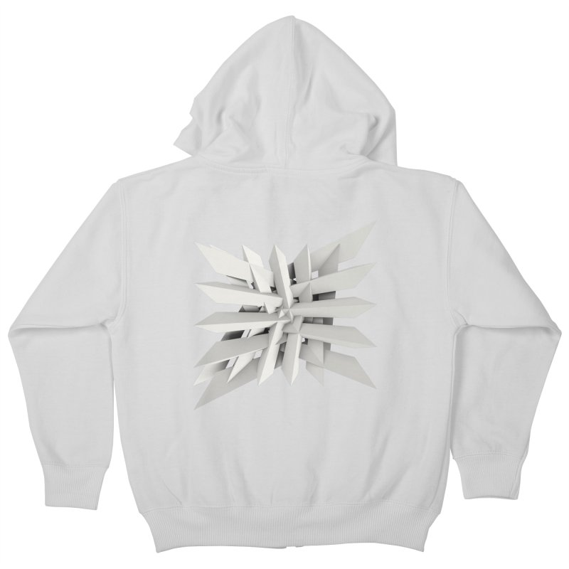 Uxitol [Struggle] Kids Zip-Up Hoody by Obvious Warrior Artist Shop