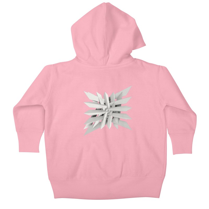 Uxitol [Struggle] Kids Baby Zip-Up Hoody by Obvious Warrior Artist Shop