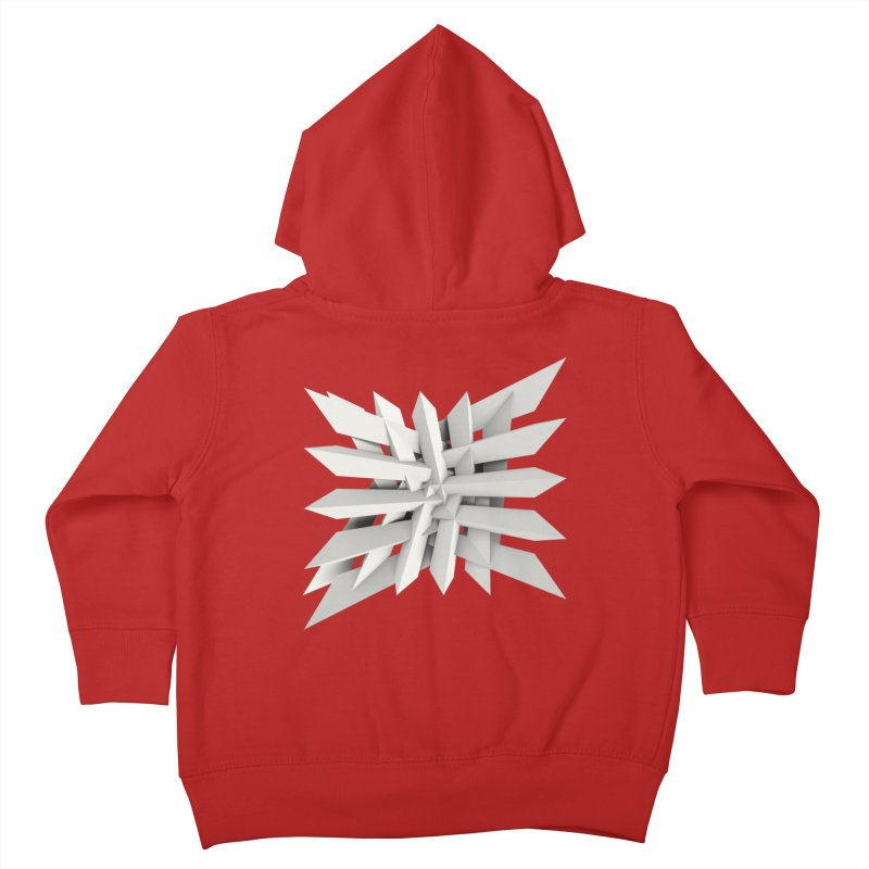 Uxitol [Struggle] Kids Toddler Zip-Up Hoody by Obvious Warrior Artist Shop