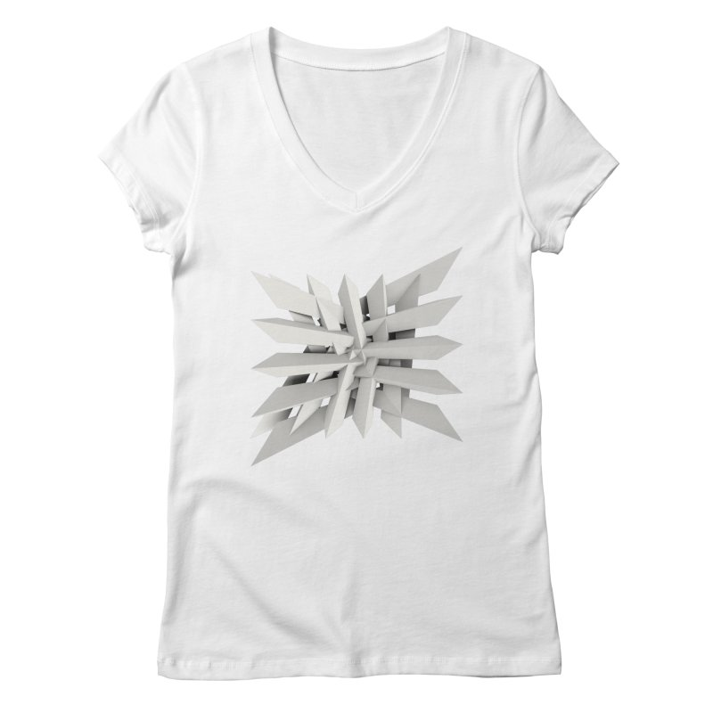 Uxitol [Struggle] Women's V-Neck by Obvious Warrior Artist Shop