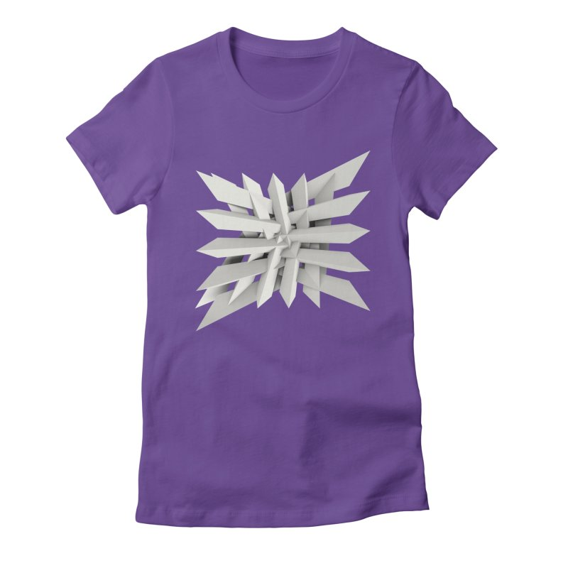 Uxitol [Struggle] Women's Fitted T-Shirt by Obvious Warrior Artist Shop