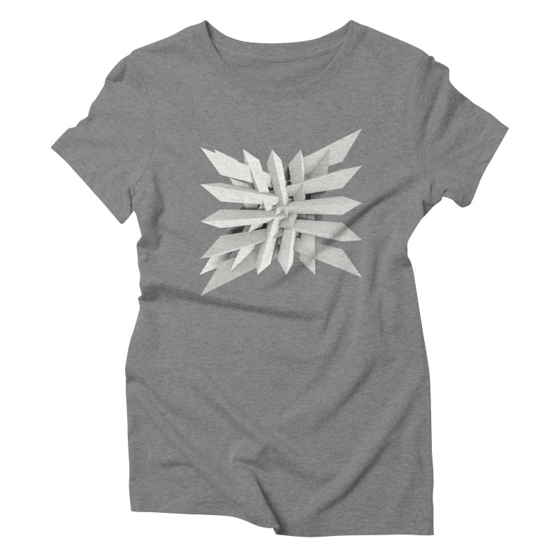 Uxitol [Struggle] Women's Triblend T-shirt by Obvious Warrior Artist Shop