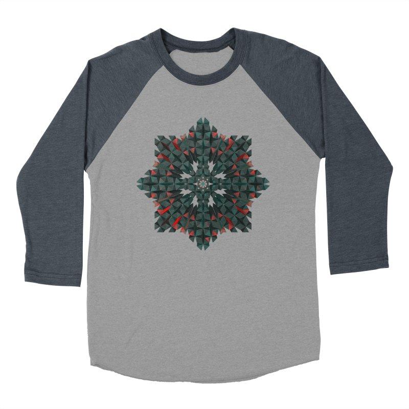 Crucible Men's Baseball Triblend T-Shirt by Obvious Warrior Artist Shop