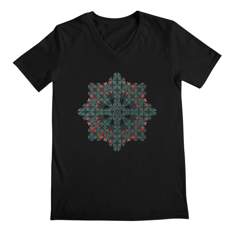 Crucible Men's V-Neck by Obvious Warrior Artist Shop