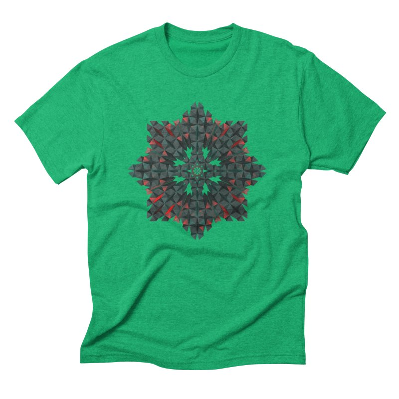 Crucible Men's Triblend T-shirt by Obvious Warrior Artist Shop