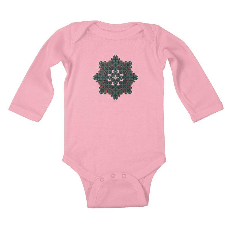 Crucible Kids Baby Longsleeve Bodysuit by Obvious Warrior Artist Shop