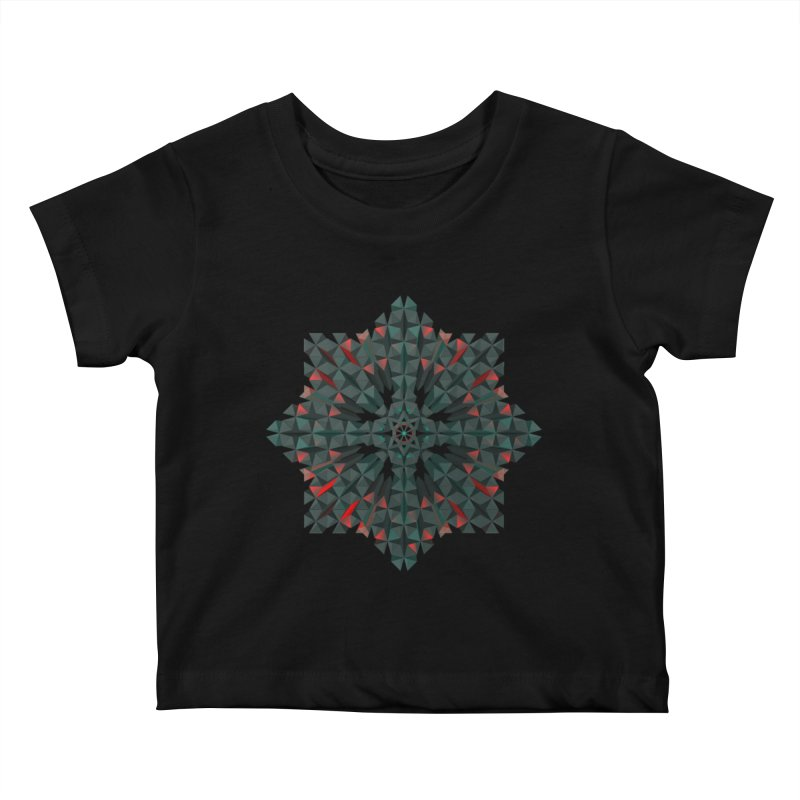 Crucible Kids Baby T-Shirt by Obvious Warrior Artist Shop