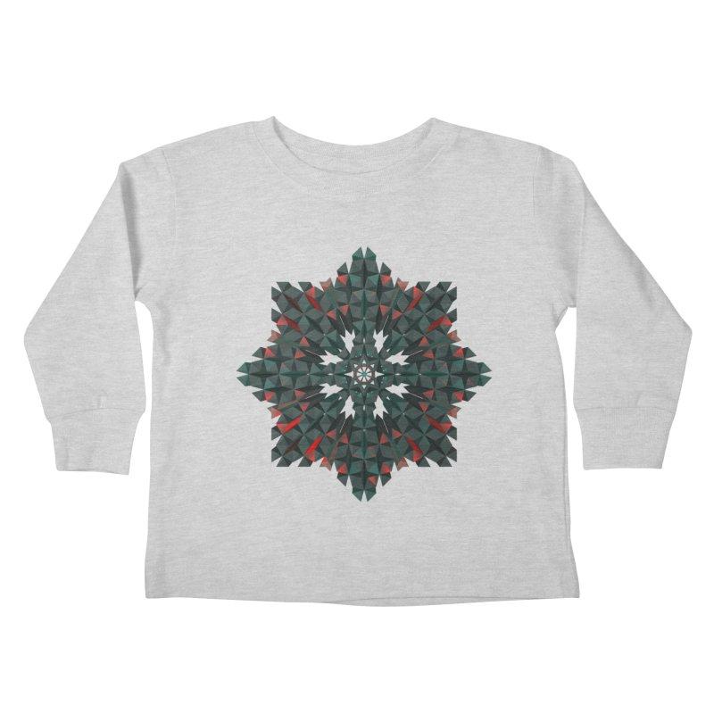 Crucible Kids Toddler Longsleeve T-Shirt by Obvious Warrior Artist Shop